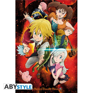 The Seven Deadly Sins - The Sins Poster