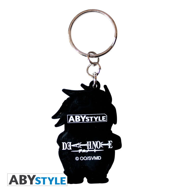 "Death Note – ""L"" PVC Keychain"