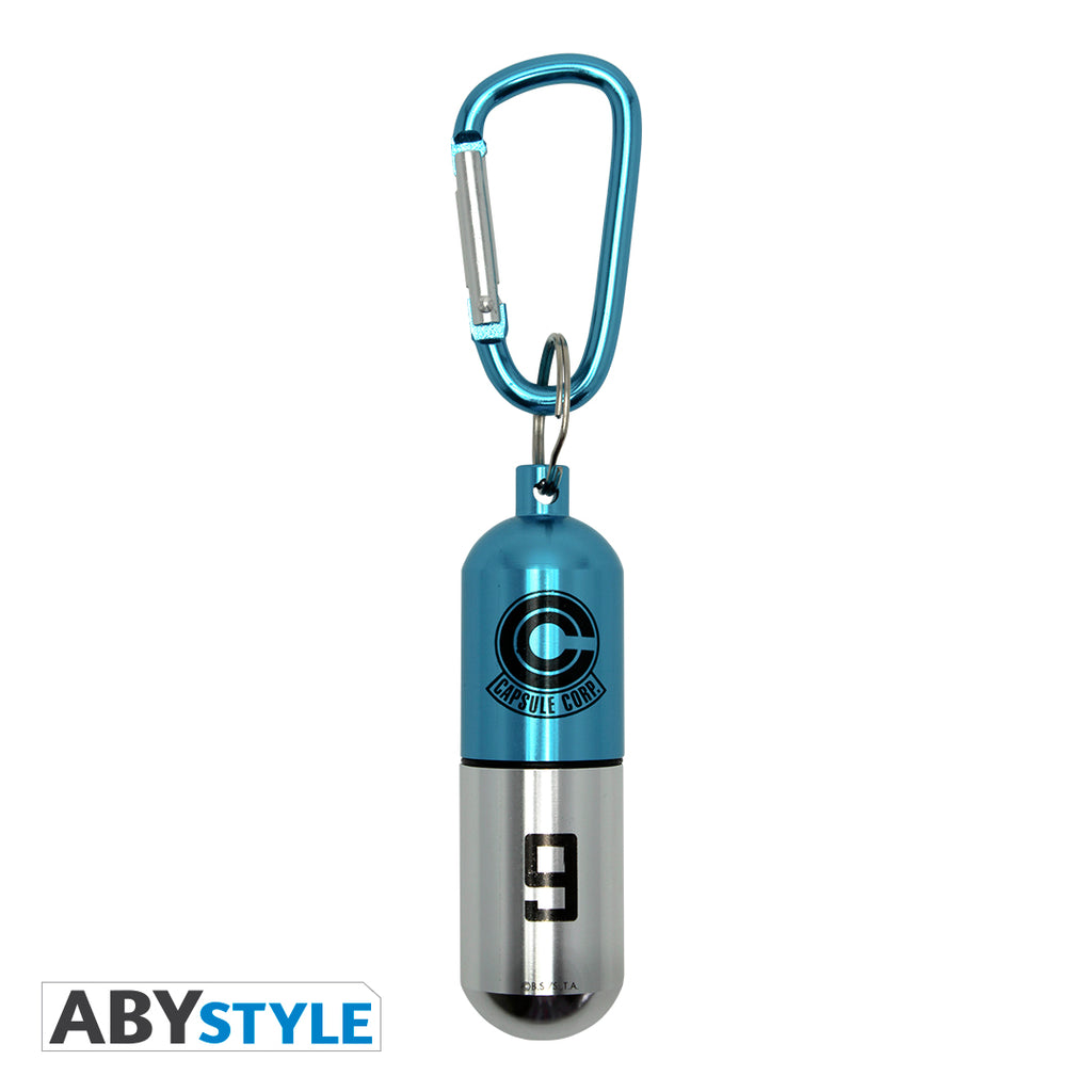 Dragon Ball Z - Blue Capsule Corp. Keychain
