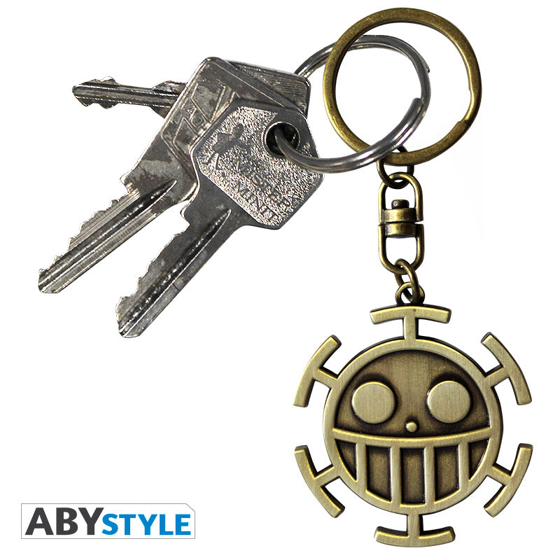 One Piece - The Heart Pirates 3D Keychain