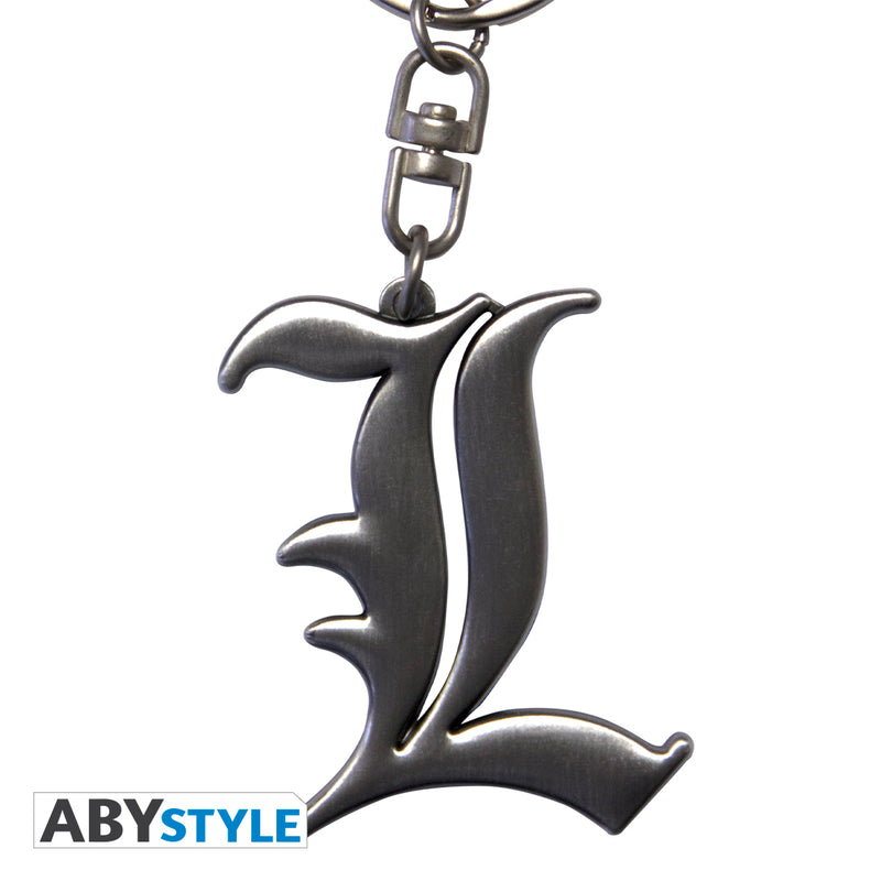 "Death Note - ""L"" 3D Keychain"