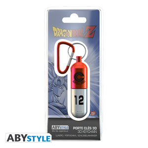 Dragon Ball Z - Red Capsule Corp. Keychain