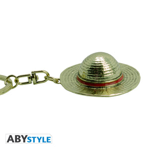 One Piece - Luffy's Hat 3D Keychain