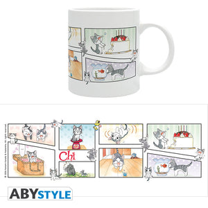 Chi's Sweet Home - Comic Strips Ceramic Mug, 11 oz