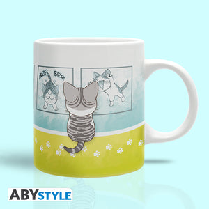 Chi's Sweet Home - Pawprints Ceramic Mug, 11 oz