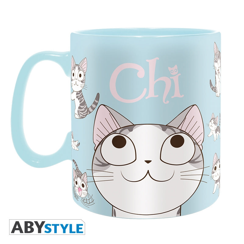 Chi's Sweet Home - Kitty Poses Ceramic Mug, 16 oz