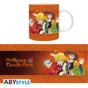 The Seven Deadly Sins - The Sins Mug, 11 oz