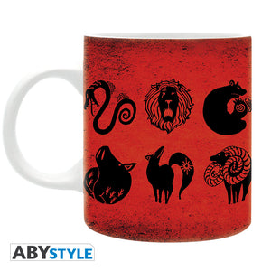 The Seven Deadly Sins - Emblems Mug, 11 oz