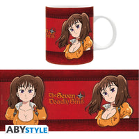 The Seven Deadly Sins - Lady Diane Mug, 11 oz