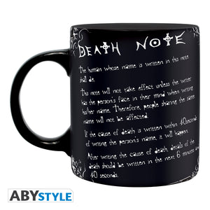 Death Note - Rules of the Death Note Mug