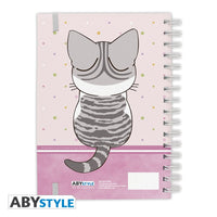 Chi's Sweet Home - Purrty in Pink Spiral Notebook