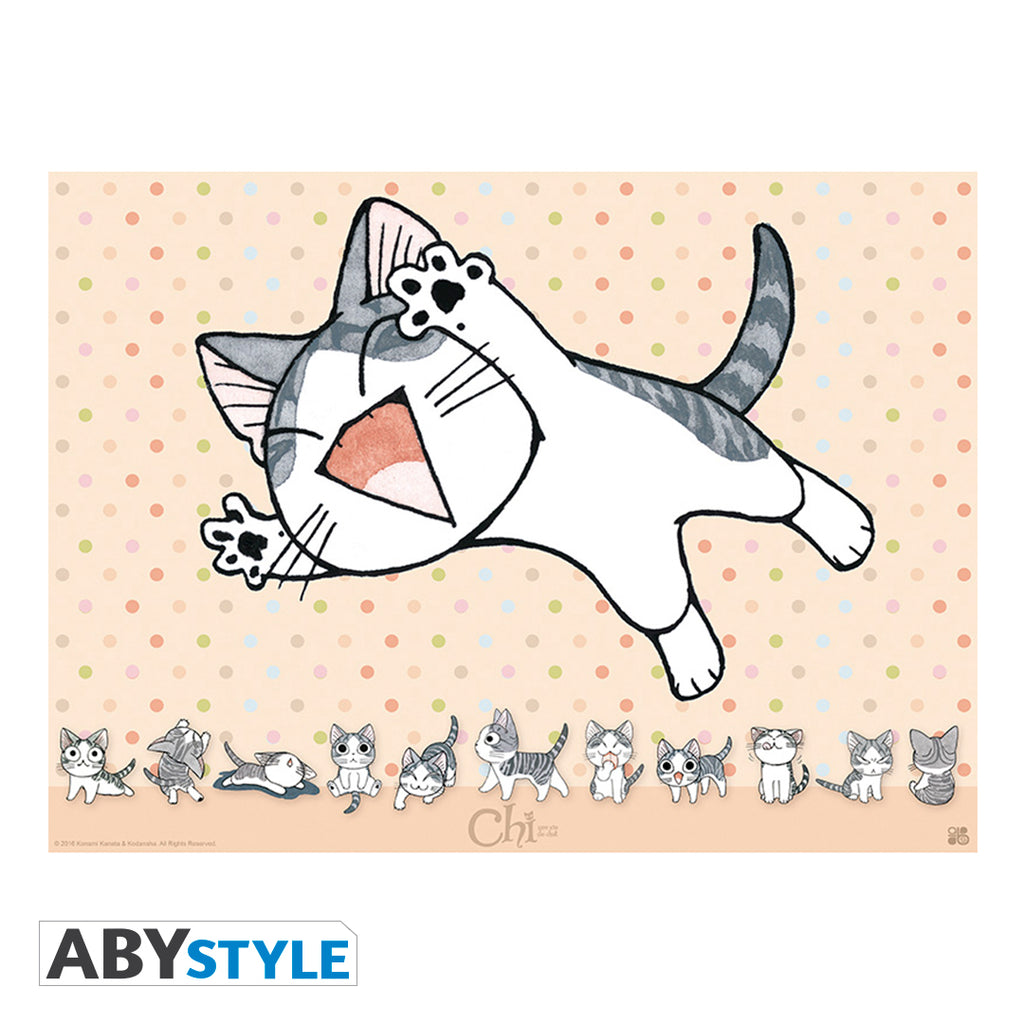 Chi's Sweet Home - Joyful Kitten Mini Poster