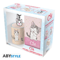 Chi's Sweet Home - Chi Cat-Lover's Gift Set (Includes Mug, Journal, and Keychain)