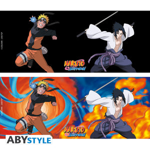 Naruto Shippuden - Naruto & Sasuke Magic Mug & Coaster Gift Set