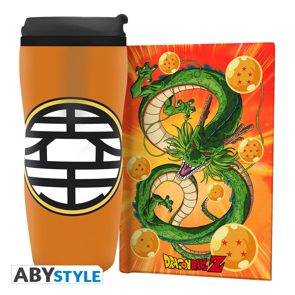 Dragon Ball Z - Travel Tumbler & Journal Gift Set