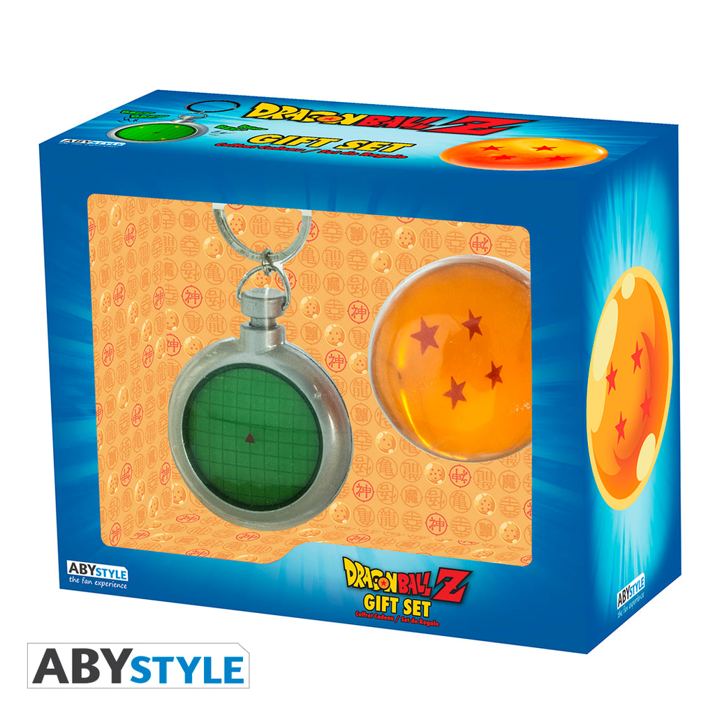 Dragon Ball Z - Radar Keychain & Dragon Ball Gift Set