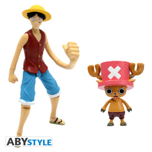 One Piece - Luffy & Chopper Action Figure Twin-Pack