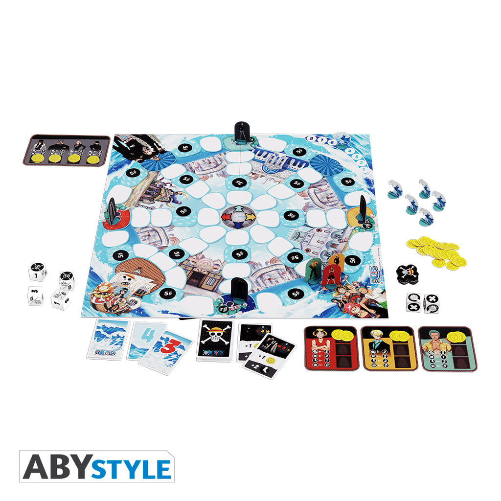One Piece - Water 7 Battle Board Game