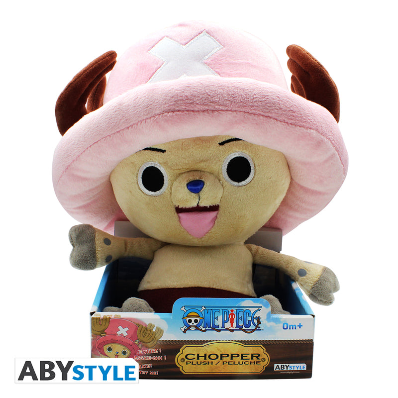 One Piece - Chopper Rumbling Plush, 10""