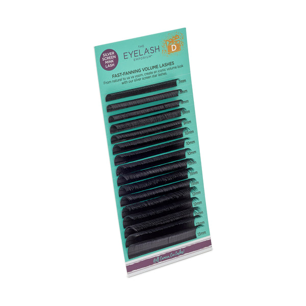Silver Screen Fast- Fanning Volume Lashes (Mixed Lengths)