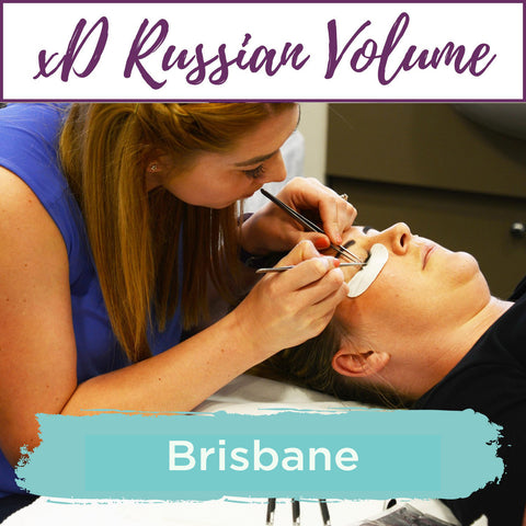 Special Effects xD Russian Volume Eyelash Extension Training Brisbane