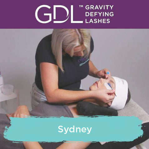 Gravity Defying Lashes Lash Lift Training Sydney