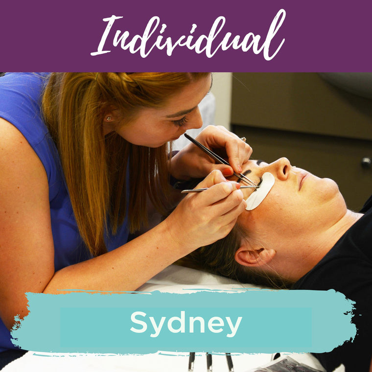 Classic Individual Eyelash Extension Training Sydney