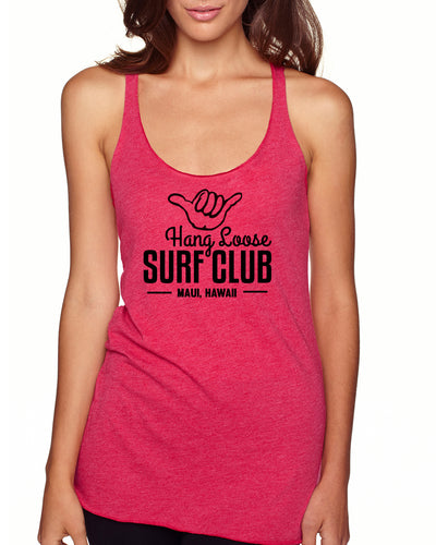 Womens Tank - Shocking Pink