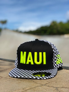 Snapback - Black & White Checkered