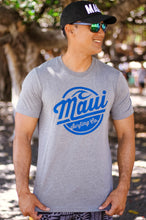 Maui Surfing Co. Tee - Grey Tri Blend