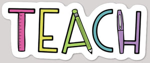 Teach Color Sticker