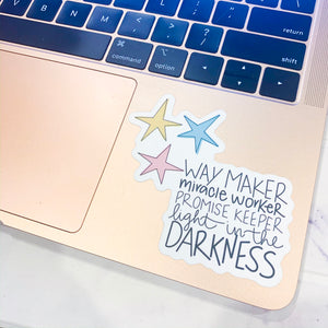 Way Maker Sticker