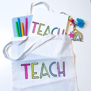 Teach Tote Bag