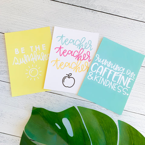 Hand Lettered Print Combo Pack
