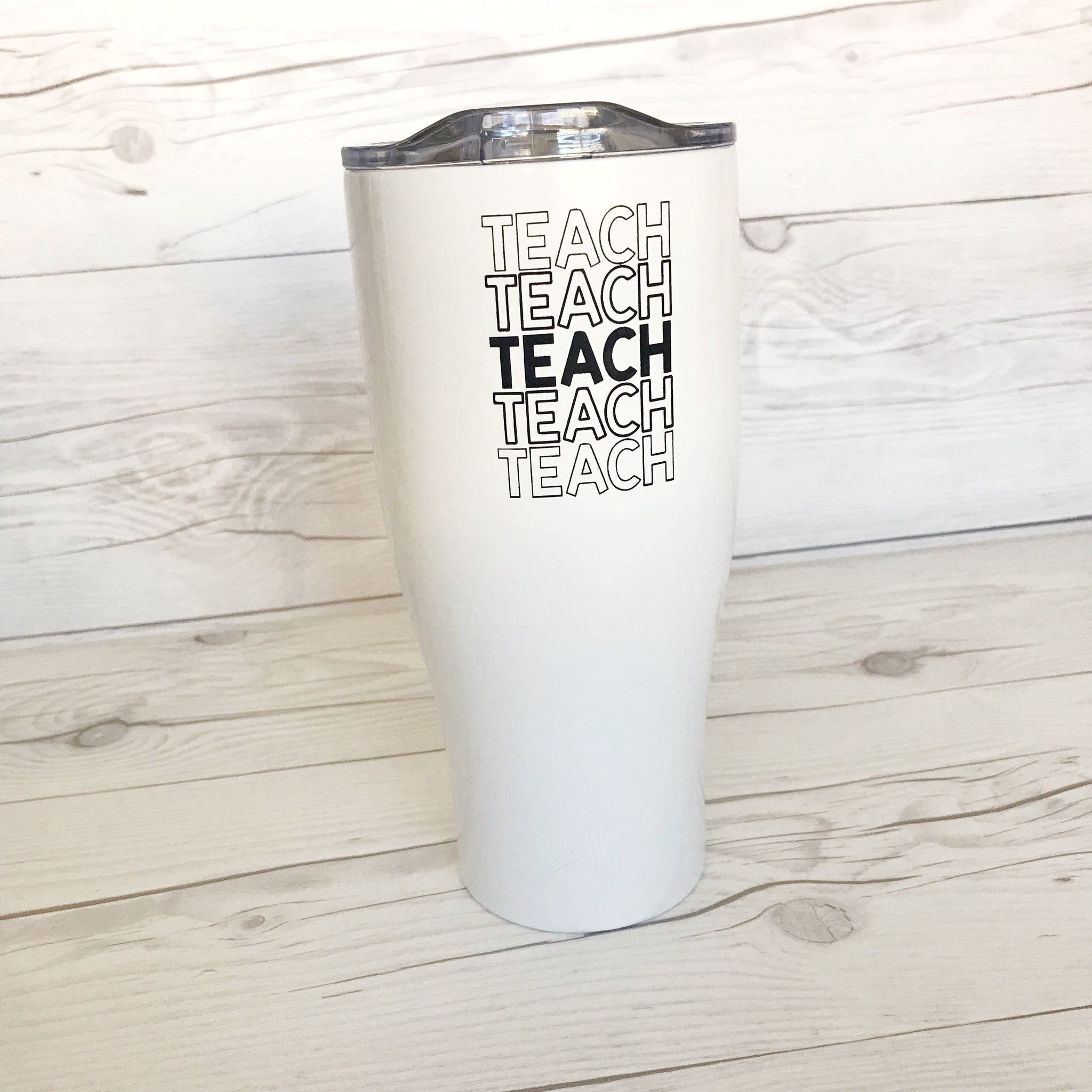 Teach Repeat Tumbler