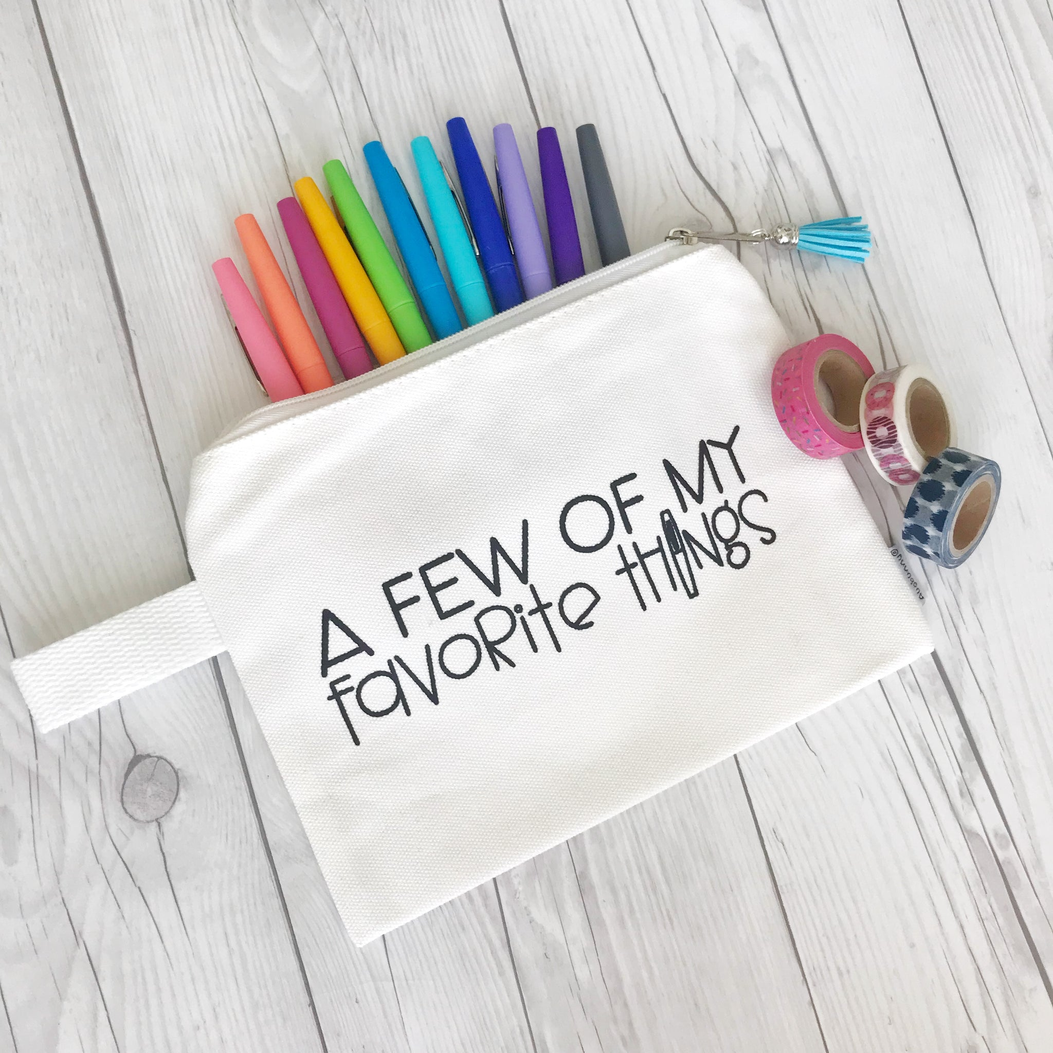 Favorite Things Pencil Pouch