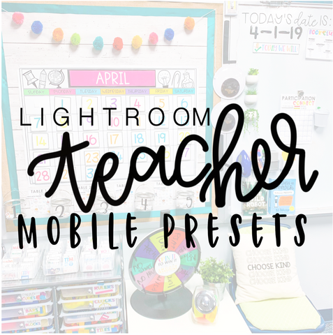 Mobile Presets-Teacher Bundle