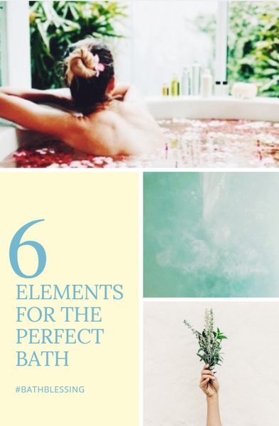 Six Elements of a Relaxing Bath