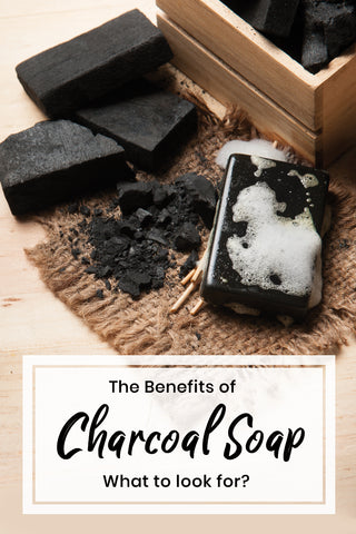 Benefits of Charcoal Soap | Bath Blessing Box