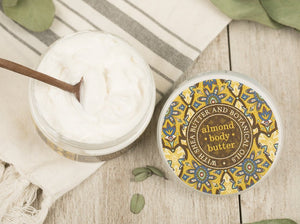 Honey Almond Botanical Body Butter