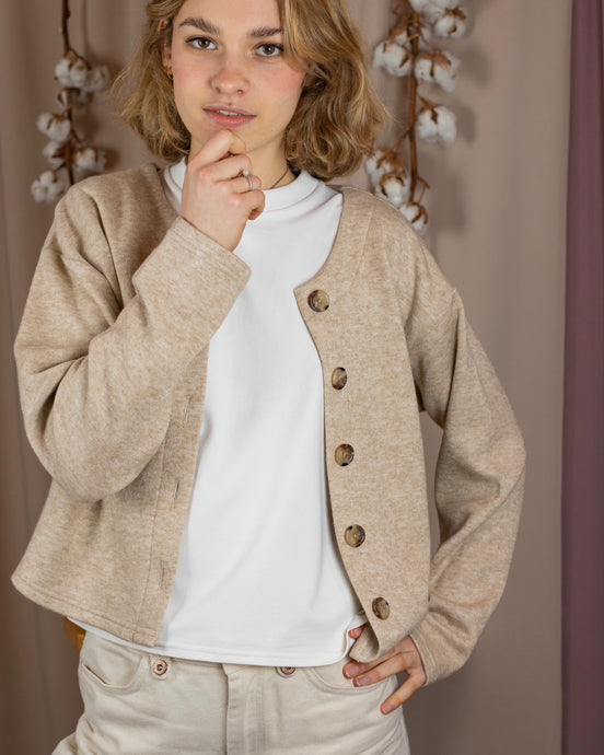 Cardigan Billie beige