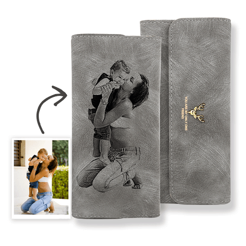Women's Long Photo Wallet