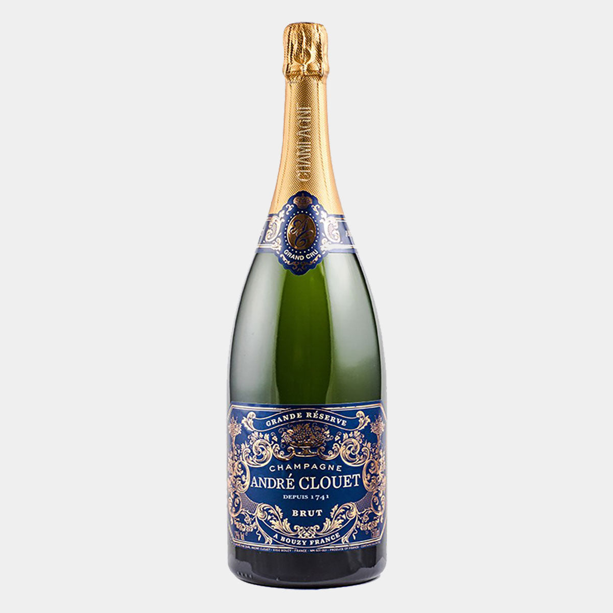 Andre Clouet Grand Cru Champagne 150 CL - Wines and Copas Barcelona
