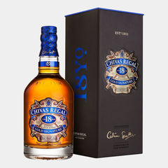 Chivas Regal 18Y Scotch Whisky - Wines and Copas Barcelona