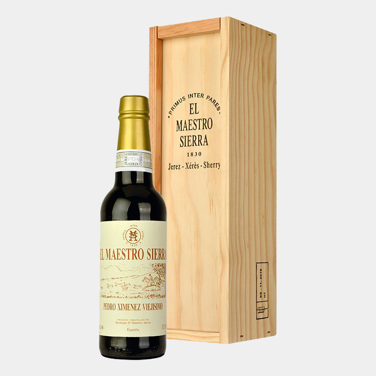 El Maestro Sierra Anticuario 37.5cl - Wines and Copas Barcelona