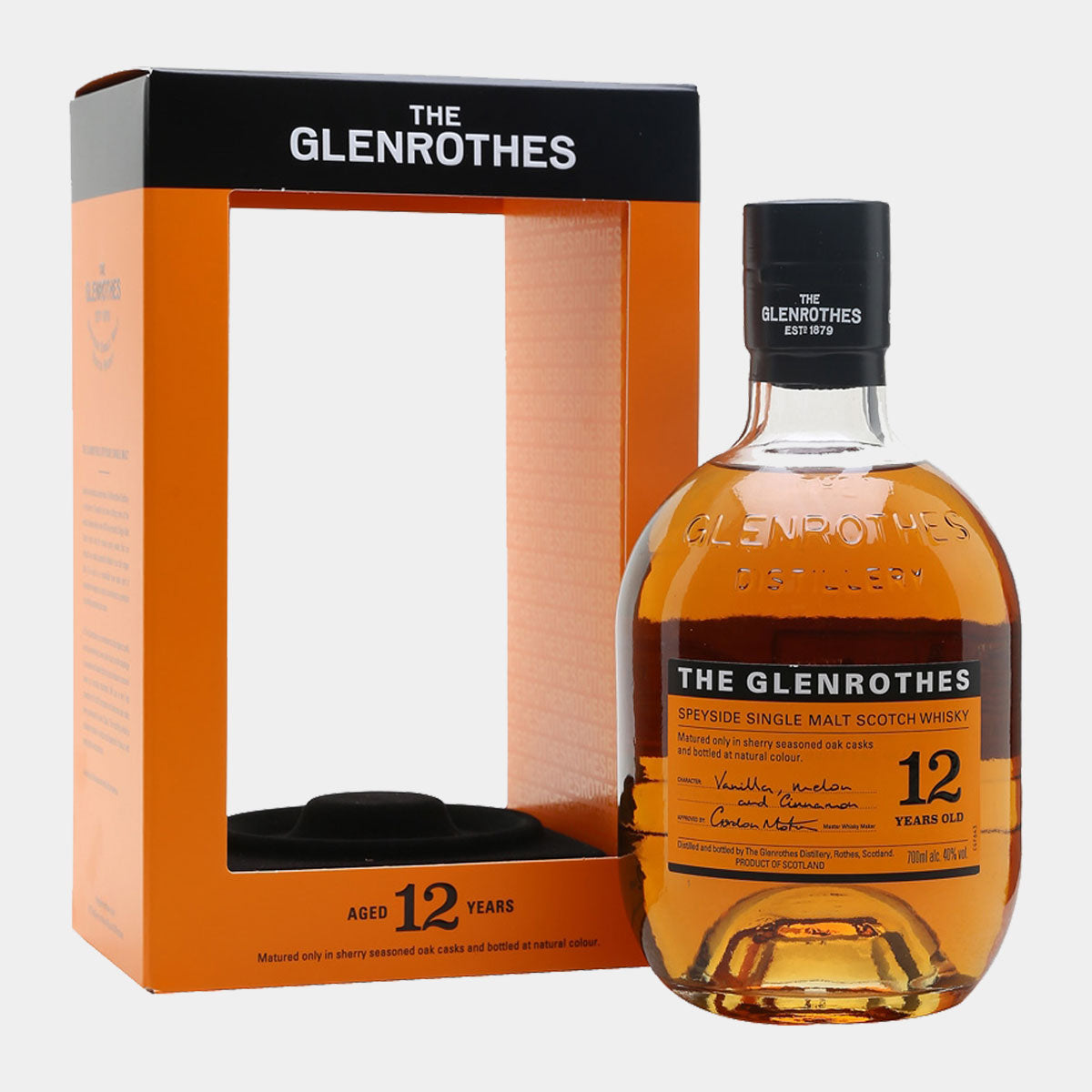 The Glenrothes 12 Years - Wines and Copas Barcelona