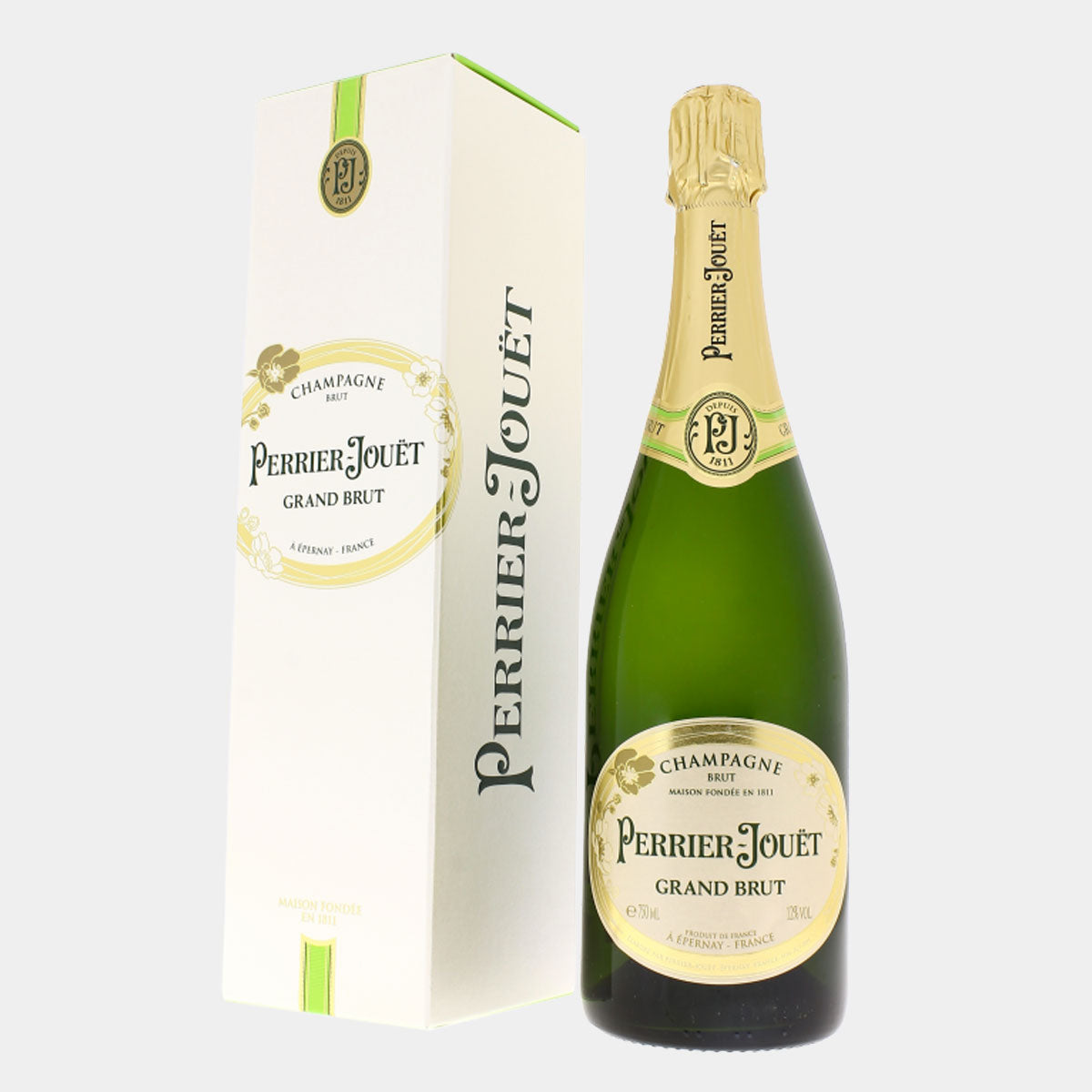 Perrier Jouet Champagne Grand Brut - Wines and Copas Barcelona