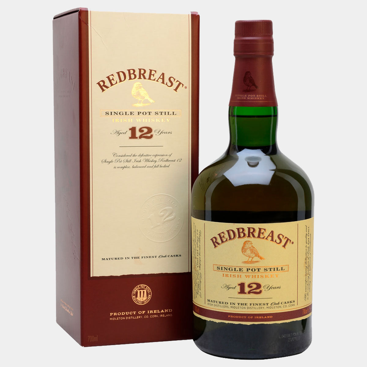 Redbreast Irish Whiskey - Wines and Copas Barcelona