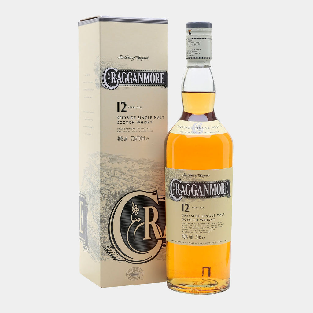 Whisky Cragganmore 12Y 70cl - Wines and Copas Barcelona