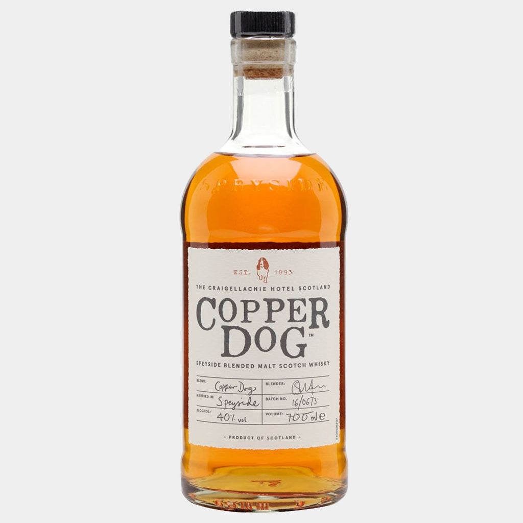 Copper Dog Blended Malt Scotch Whisky - Wines and Copas Barcelona